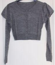 gilet/cardigan lainage gris foncé Goodlook fille 14 ans
