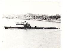 USS Boarfish/Sakarya SS327 Submarine Photograph 8x10 BW 1952 Malta