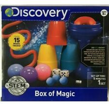 Discovery Kids Box of Magic, ages 8+ Learn 15 Magic Tricks New FREE SHIPPING