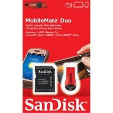 Sandisk SDHC e adattatore USB per Micro SD/Micro SDHC Scheda di memoria