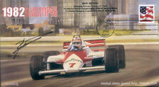1982sb mclaren cosworth MP4B detroit F1 couverture signée ron dennis