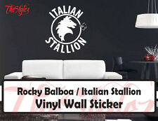 Rocky Balboa Italian Stallion Custom Wall Vinyl Sticker