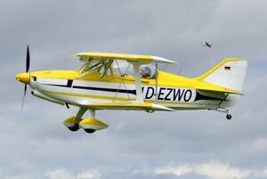 Ultraleichtflugzeug Eigenbau aus Kit B&F FK-12 mit E-Zulassung (VVZ) MTOW 520kg