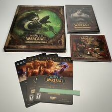World Of Warcraft Mists Of Pandaria Collector's Edition Near Complete *READ*