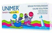 Unimer Baby Saline Solution Physiologic Serum 5 ml - 50 Pieces