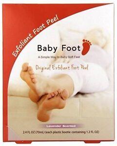 Baby Foot Lavender Scented Original Exfoliating Foot Peel 2.4 FL OZ - 2 Booties