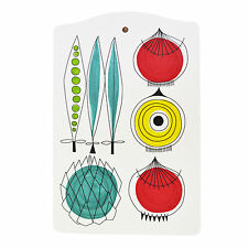 Scandinavian Swedish Vintage Retro 50s Almedahls Chopping Bread Board - Picknick