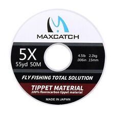 Fluorocarbon Tippet Fly Line Clear Color 50M 0X/1X/2X/3X/4X/5X/6X Fly Fishing