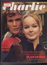 Charlie Magazine Far Cry Elizabeth Rosalyn Kind Fashion  March 1970