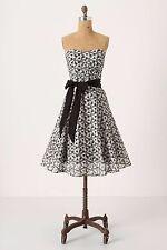 Anthropologie Moulinette Soeurs Overwhelmed Aster Dress w/ Petticoat S 4