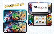 LEGO MARVEL - vinyl Skin Aufkleber für Nintendo NEW 2DS XL - réf 197