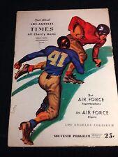University of Georgia Bulldogs 1945 2nd Air Force Prog Frank Sinkwich