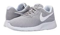 Nike Tanjun Wolf Grey, White Anthracite Mens Sneakers Running Shoes 812654 010