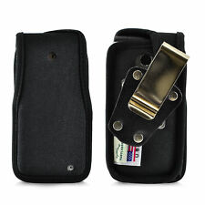 LG Exalt LTE VN220 4G Black Nylon Case with Removable Metal Belt Clip USA MADE