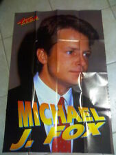 Poster Michael J. Fox e sul retro Ron Nummi By Super Teen del 1991