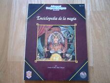 Advanced Dungeons & Dragons - Enciclopedia de la Magia - ZINCO - juego rol AD&D