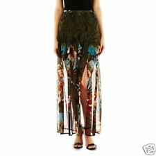 I Jeans by Buffalo Military Jungle Maxi Skirt Size 8