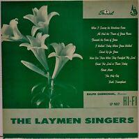 The Laymen Singers / Ralph Carmichael [Sacred Records LP9017] Red Vinyl LP