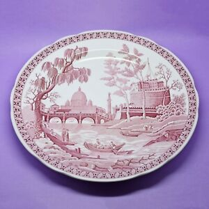 Spode The Archive Collection Georgian Series 'Rome'England Plate Vintage England