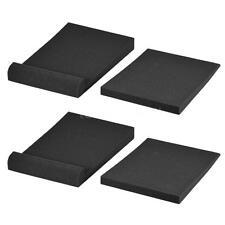 2 Sets of Studio Monitor Speaker Isolation Acoustic Foam Pads B8N6