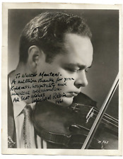 Michael RABIN (Violinist): Signed Photograph