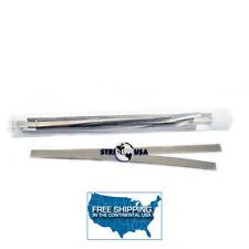 Dental Polishing Strips Stainless Steel 4 mm MEDIUM GRIT (2-sided)  12/BOX