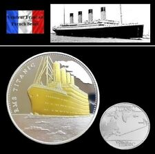 Pièce plaquée OR et ARGENT ( GOLD and SILVER Plated Coin ) - R.M.S. Titanic