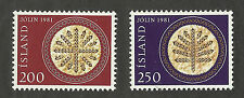 Iceland 550-551 (1981) MNH/OGnh XF/S to S {Set of 2}