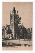 Elmer, New Jersey, Early View of The M. E. Church