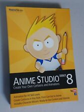 Smith Micro Anime Studio Debut 8 (Retail) (1 User/s) - Full Version for Mac, Wi…