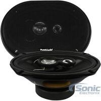 "PLANET AUDIO TRQ693 TORQUE 6"" x 9"" 3-Way 500 Watt Full Range Car Speaker (PAIR)"
