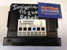Insignia Body Control BCM Module ECU Control Unit / Tis2Web Reset 13503497