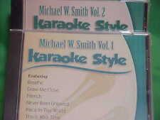 Michael W Smith #1 & 2 ~ Christian Daywind Karaoke Style ~~ Healing Rain ~~ CD+G