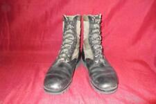Military 8 W Green Jungle Combat Boots USGI Men Boys Vietnam Vintage #431