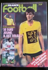 France Football 16/9/1980; Lyon-Saint-Etienne/ Eire-Hollande/ Couriol/ Paganelli