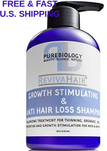 HAIR GROWTH Stimulating Shampoo FRUIT STEM CELLS Anti Hair Loss W/ DHT BLOCKERS