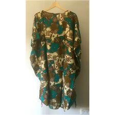 NEW Cotton Women Top Kaftan Caftan Boho Dress Loose Batwing Large One size