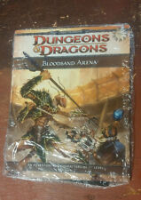 Bloodsand Arena Free RPG Day Giveaway Sealed 4th ed D&D Dungeon & Dragons Module
