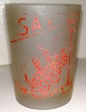 Vintage Shot Glass Circus 4 oz