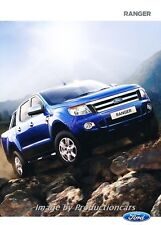 2014 Ford Ranger Truck 36-page Australia Car Sales Brochure Catalog
