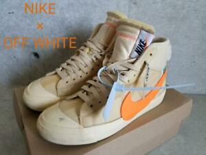 Men 8.5Us Nike Off White Off-White Blazer Mid