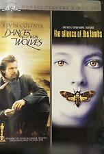 Dances with Wolves / The Silence of the Lambs DVD NEW Sealed