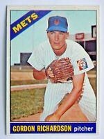 Gordon Richardson #51 Topps 1966 Baseball Card (New York Mets) VG