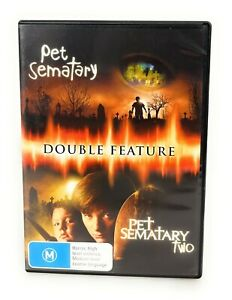 Stephen King's Pet Sematary 1 & 2 Two DVD Region 4 Free Postage