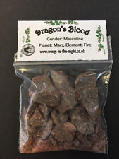 DRAGONS BLOOD Incense Resin 10g ~ Protection/Potency/Love ~ Pagan/Witchcraft