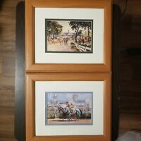 Pair of (2) Peter Williams Framed Matted Prints