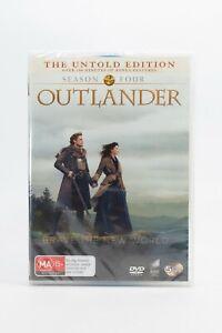 Outlander Brave New World Season 4 The Untold Edition 5 Disc DVD Set New Sealed