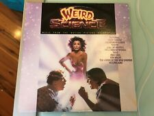 WEIRD SCIENCE-MUSIC FROM THE MOTION PICTURE SOUNDTRACK-1985 AUS VINYL RECORD