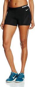 Nike Pro 3 Inch Womens Black Hypercool Compression Shorts - 776508 Size: XL