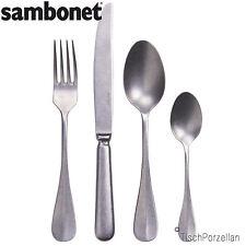 24 tlg SAMBONET Edelstahl 18-10 Besteck Serie Baguette Retro Design 52486-81